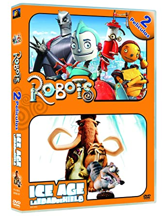 Pack Robots + Ice Age [DVD]