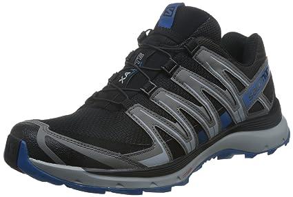 9137cd25a3f13 Salomon 2018 Men s XA Lite Running Shoe - Black Quiet Shade Imperial Blue -