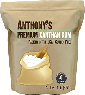 product image for Anthony's Xanthan Gum, 1 lb, Batch Tested Gluten Free, Keto Friendly, Product of USA