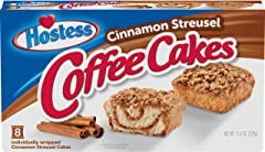 Hostess Cinnamon Streusel Coffee Cakes, 8 Count