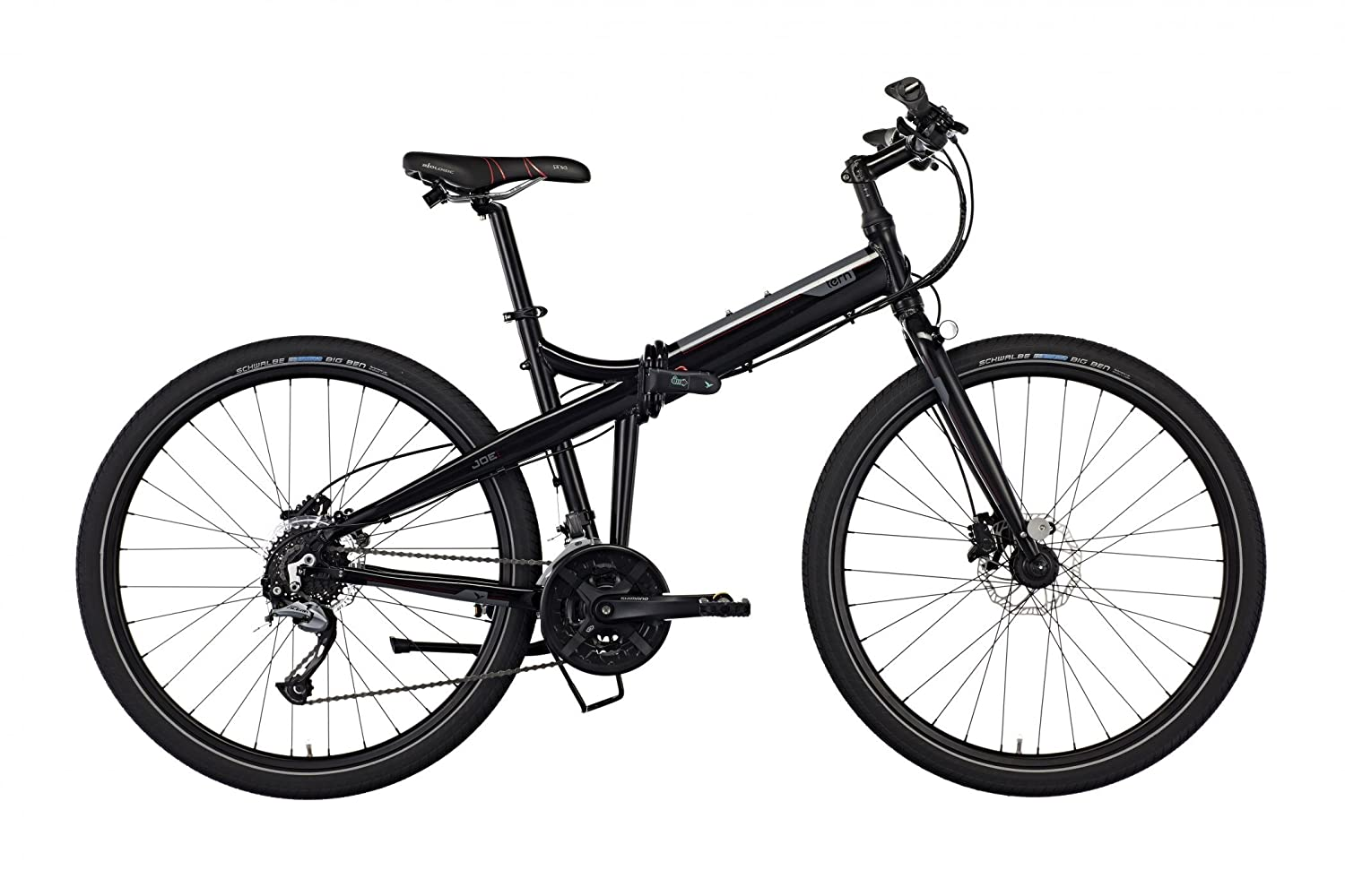 Tern Joe P27 27,5 Black/Red 2017 bicicleta plegable: Amazon.es: Deportes y aire libre
