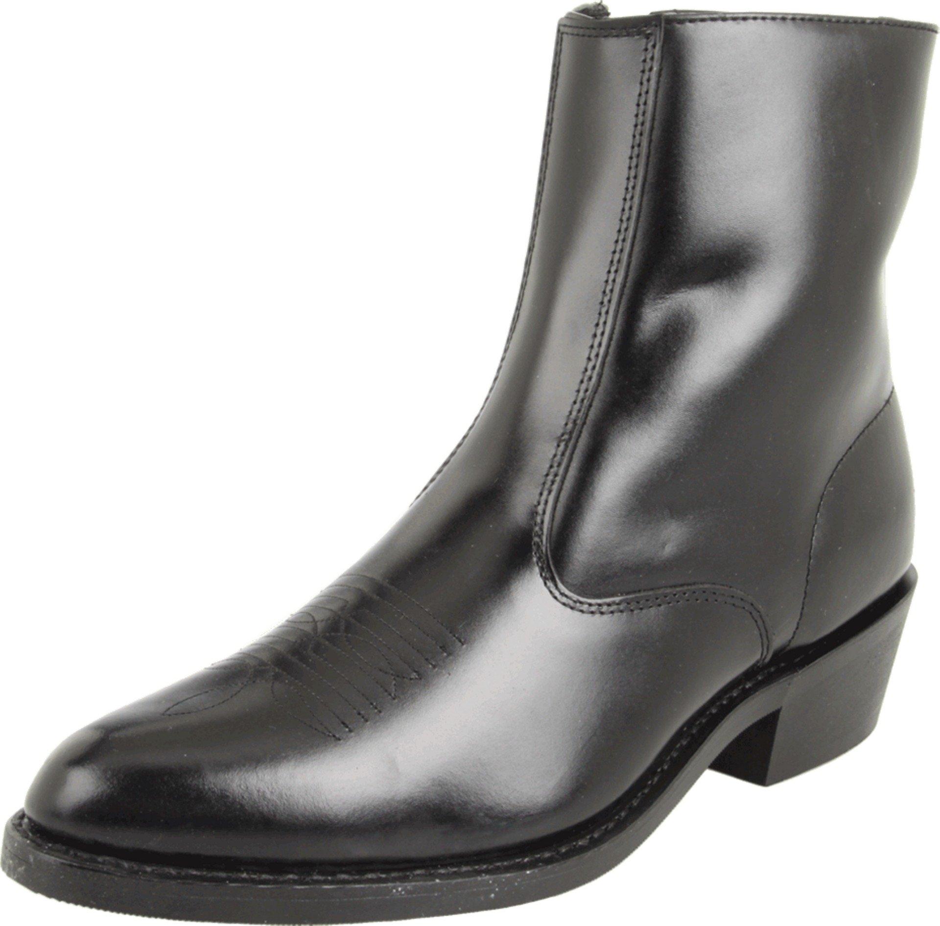 Laredo Men's Long Haul Western Shoe,Black,12 D (M) US