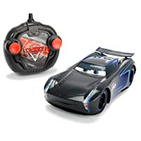 Majorette - 203084005 - Cars 3 - Voiture RadioCommandée - Turbo Racer Jackson Storm - Echelle 1/24