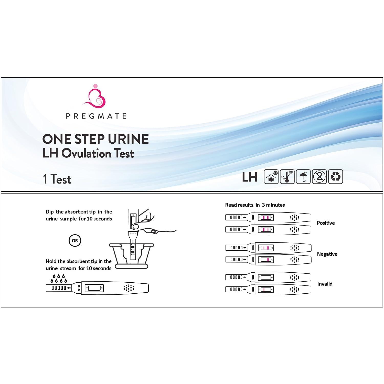 Amazon PREGMATE 8 Ovulation LH Plus 2 Pregnancy HCG