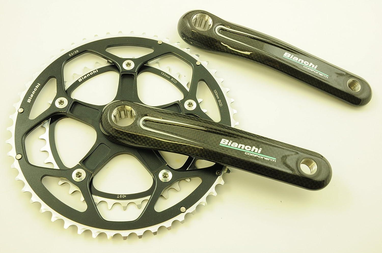 FSA Bianchi marca Componenti Chainwheel de carbono de bicicleta de ...