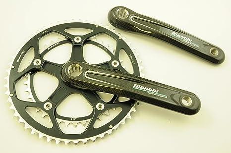 FSA Bianchi marca Componenti Chainwheel de carbono de ...