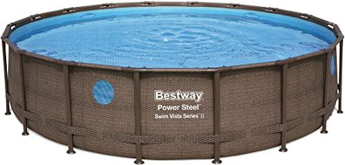 Bestway 56979E Power Steel 18' x 48″ Swim Vista 2 Set Above Ground Pool
