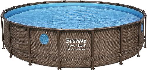 Bestway 56979E Power Steel 18' x 48″ Swim Vista 2 Set Above Ground Pool