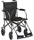Drive DeVilbiss Healthcare TraveLite Lightweight Aluminium Transport Chair in a Bag