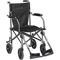 Drive Medical TC005 Travelite Transport-Rollstuhl aus Aluminium, 46 cm