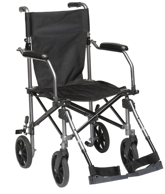 Drive DeVilbiss Healthcare TraveLite Lightweight Aluminium Transport Chair