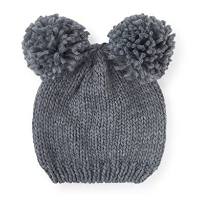 6e919307f0048b The Children's Place Big Boys 2 Pom Pom Beanie Cold Weather Hat, H/T