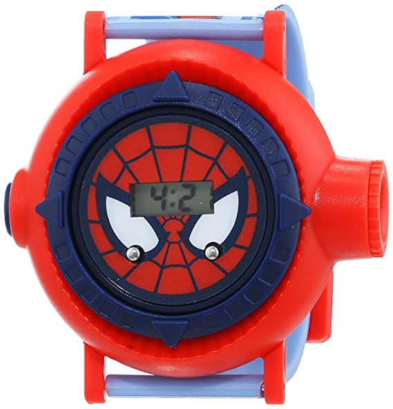 Spiderman Reloj Chicos de Digital con Correa en Plástico SPM83: Amazon.es: Relojes