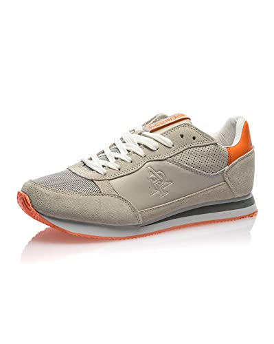 American Et Homme Basse Basket Beige People Orange rxthQCdsB