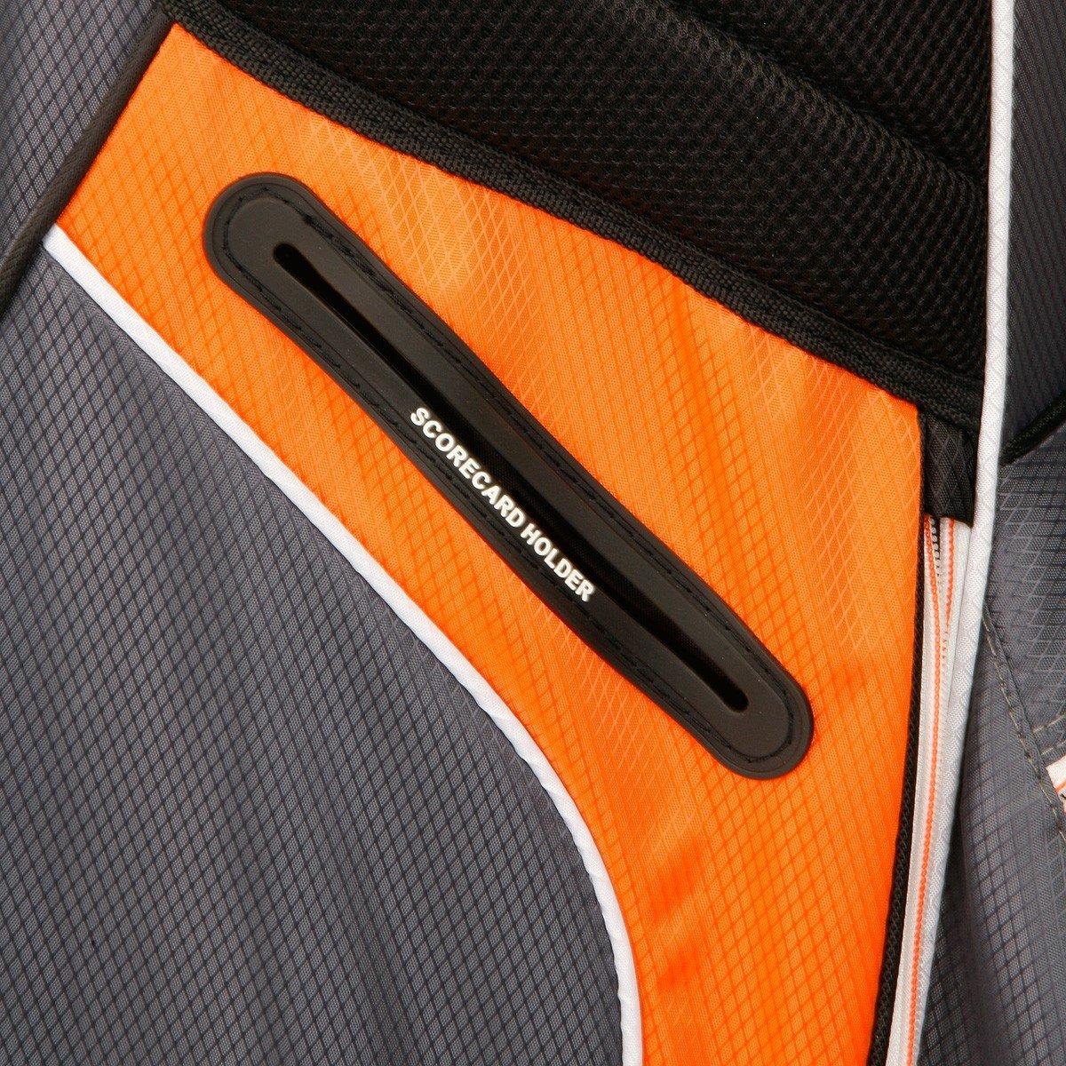 Sahara Baja Lite Golf Stand Bag, Black/White/Red by Sahara (Image #5)