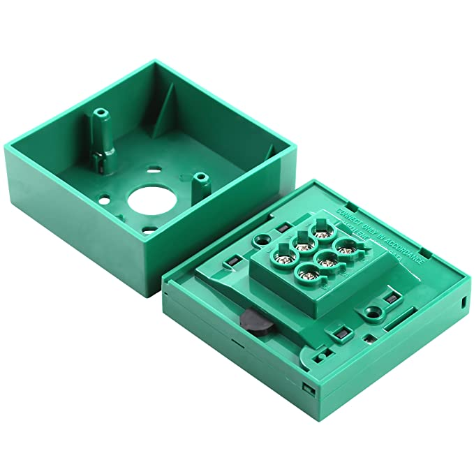 UHPPOTE Wired Security Button Hands Break Glass For Emergency Fire ...