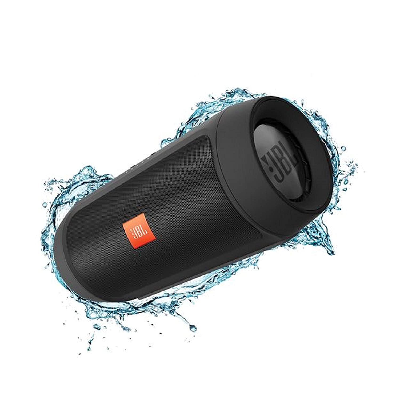 JBL Charge 2+ Splashproof Portable Bluetooth Speakers - Black
