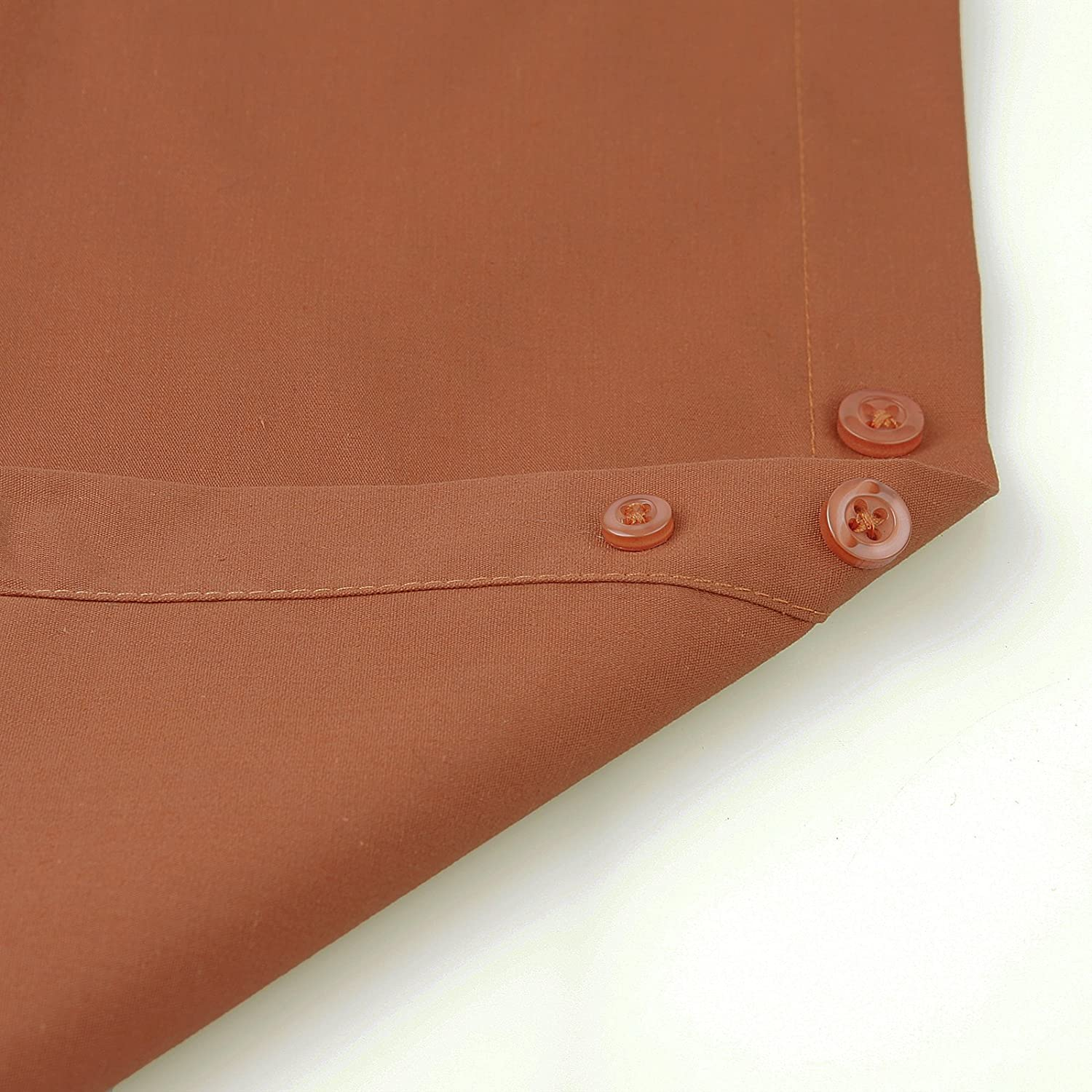 Amanti Rust Colored Mens Dress Shirt Collar Classic Button 17.5-34//35