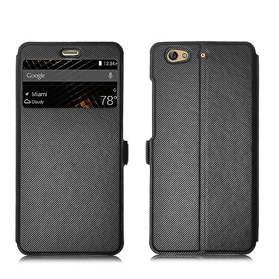 premium selection 6bec5 f6a81 BLU VIVO 5 Case, IVSO BLU VIVO 5 Case - 5 inch Super Magic Case for BLU  VIVO 5 phone(Black)