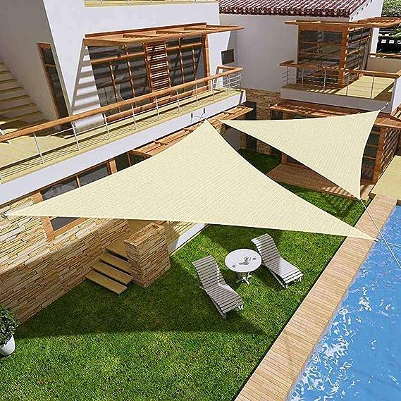 Gale Geordie - Toldo de Tela de poliéster Oxford 300D 160 g/m² en Color Beige Claro, Resistente al Agua: Amazon.es: Jardín