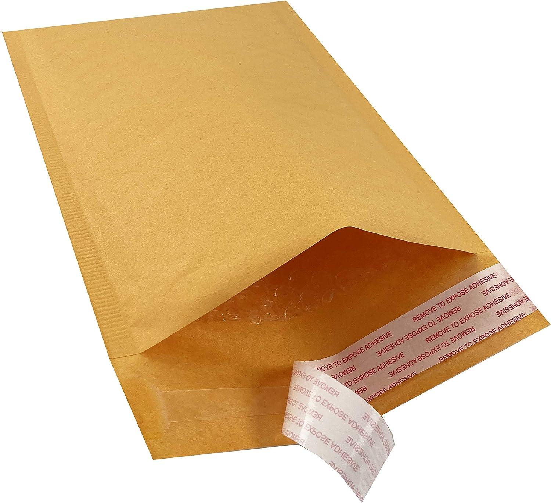 "AmazonBasics Kraft Bubble Mailer, 6"" x 10"" (Internal Size - 5.75"" x 9""), 25-Pack"
