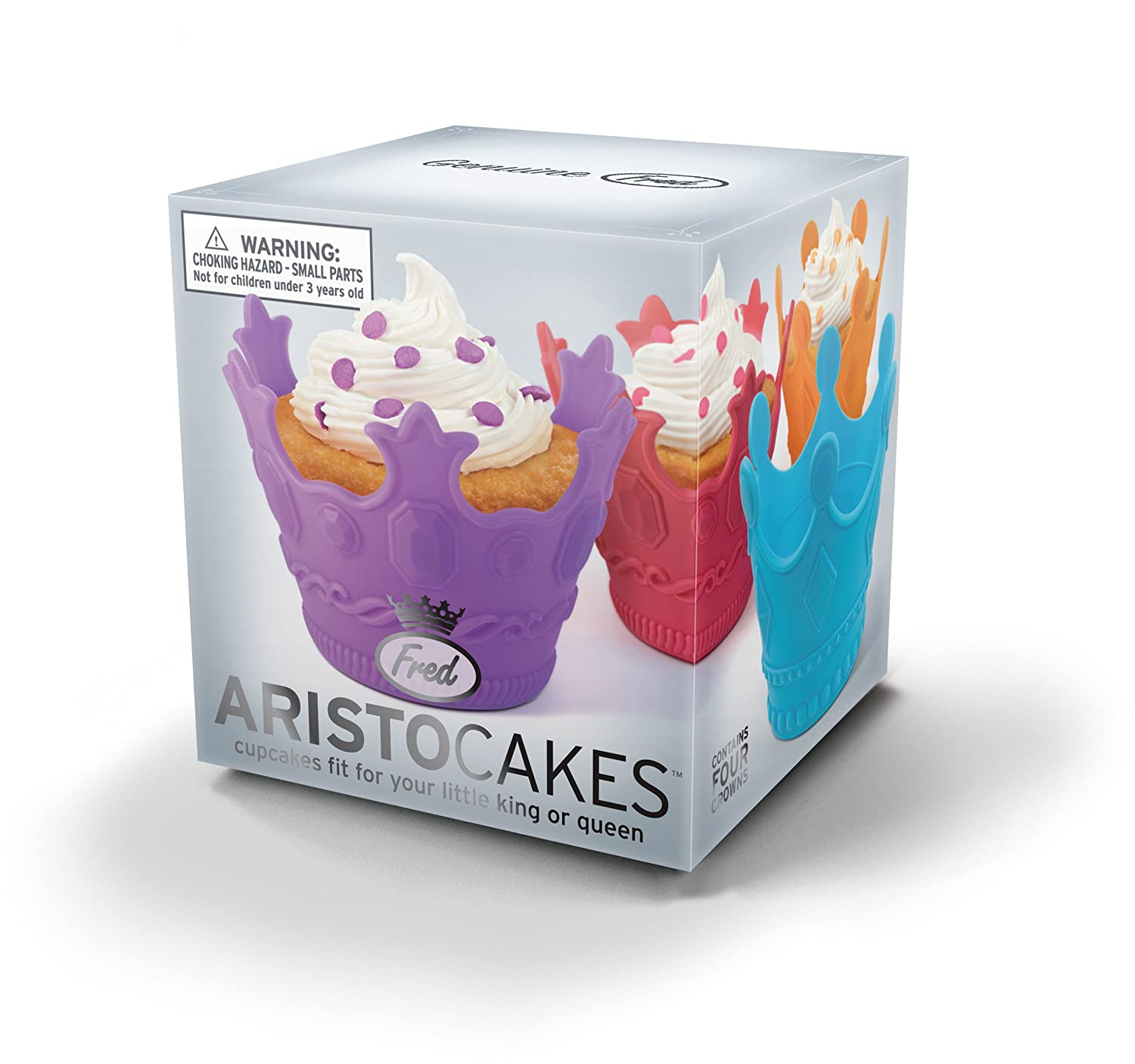 Set of 4 Fred and Friends Fred YUMBOTS Robot Baking Cups