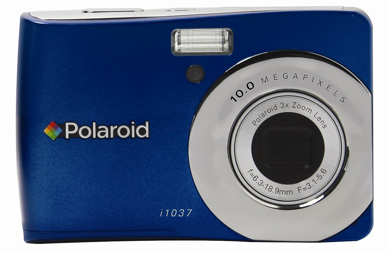 Amazon.com : Polaroid i1037 10.0 MP Digital Still Camera (Blue) : Point And  Shoot Digital Cameras : Camera & Photo