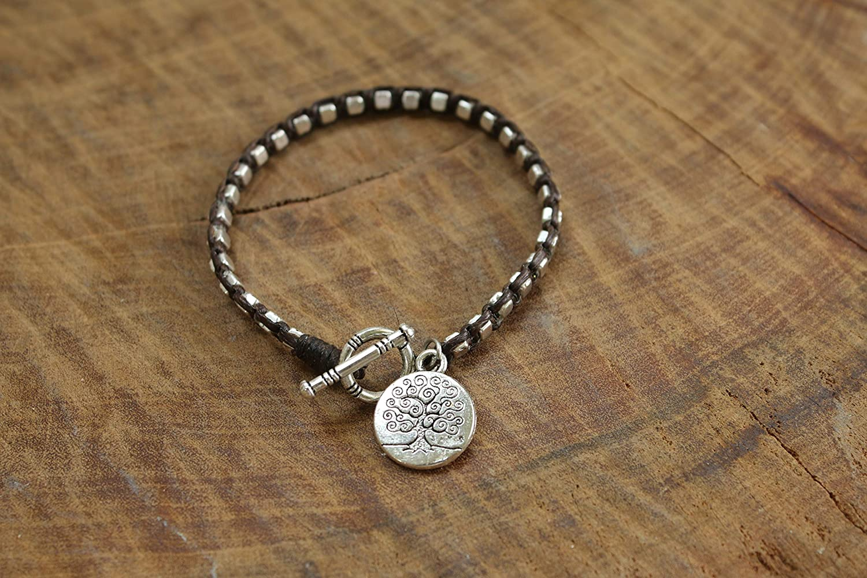 Personalize Tree of Life Bracelet Yoga Jewelry Spiritual Gift
