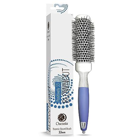 Cepillo redondo PRO para secador – Cepillo de pelo redondo pequeño - Cepillo  cerámico ionico – 6c107c1401c3