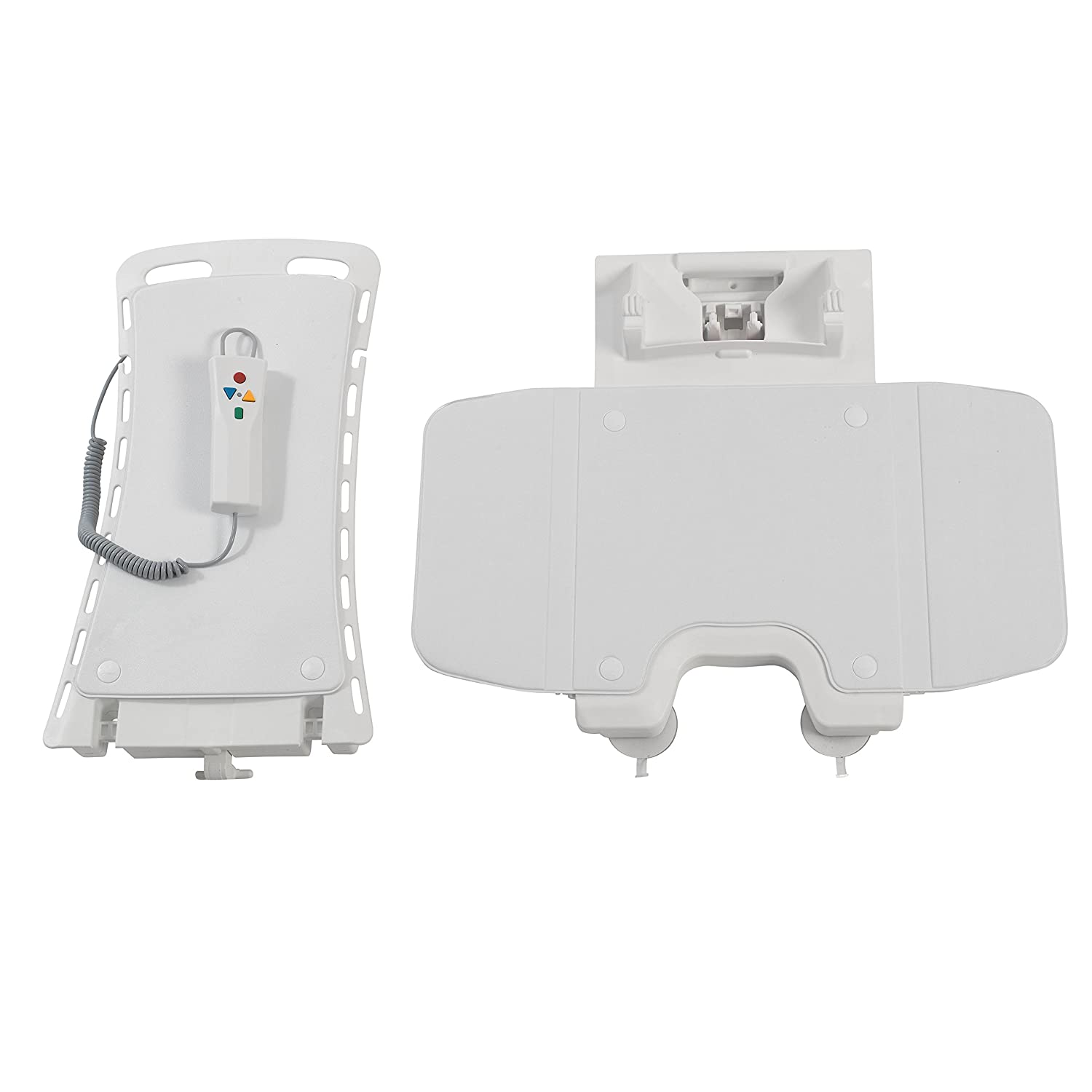 Amazon Drive Medical Bellavita Auto Bath Lifter White
