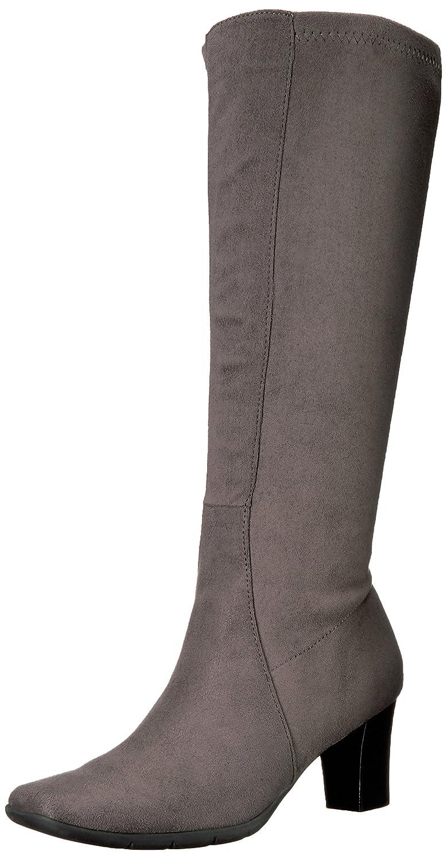 Aerosoles A2 by Women's Lemonade Boot B01DB8CKMS 8 B(M) US Grey Fabric