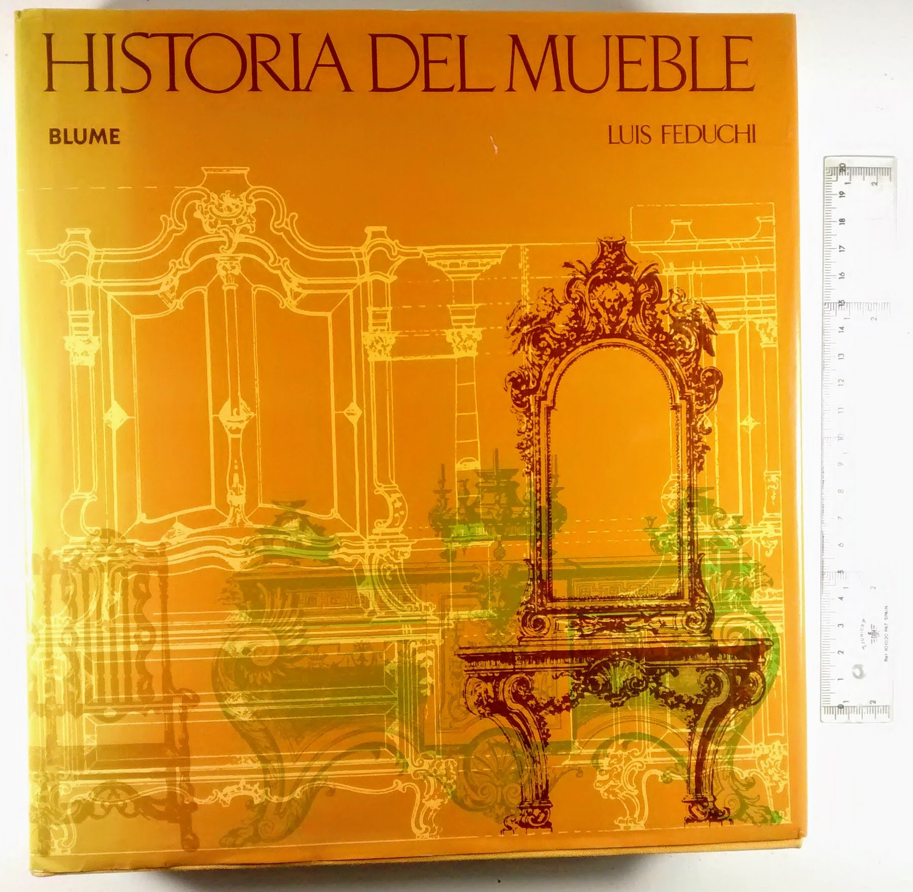 Historia Del Mueble: Amazon.es: Luis Feduchi: Libros