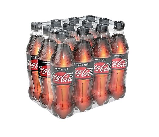 Coca-Cola Zero Sugar/Koffeinhaltiges Erfrischungsgetränk in ...
