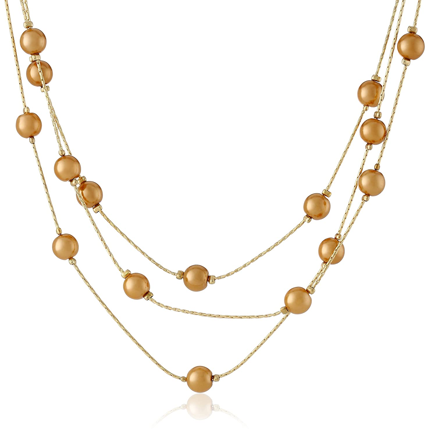Signature 1928 Collection Adjustable Strandage Necklace, 16