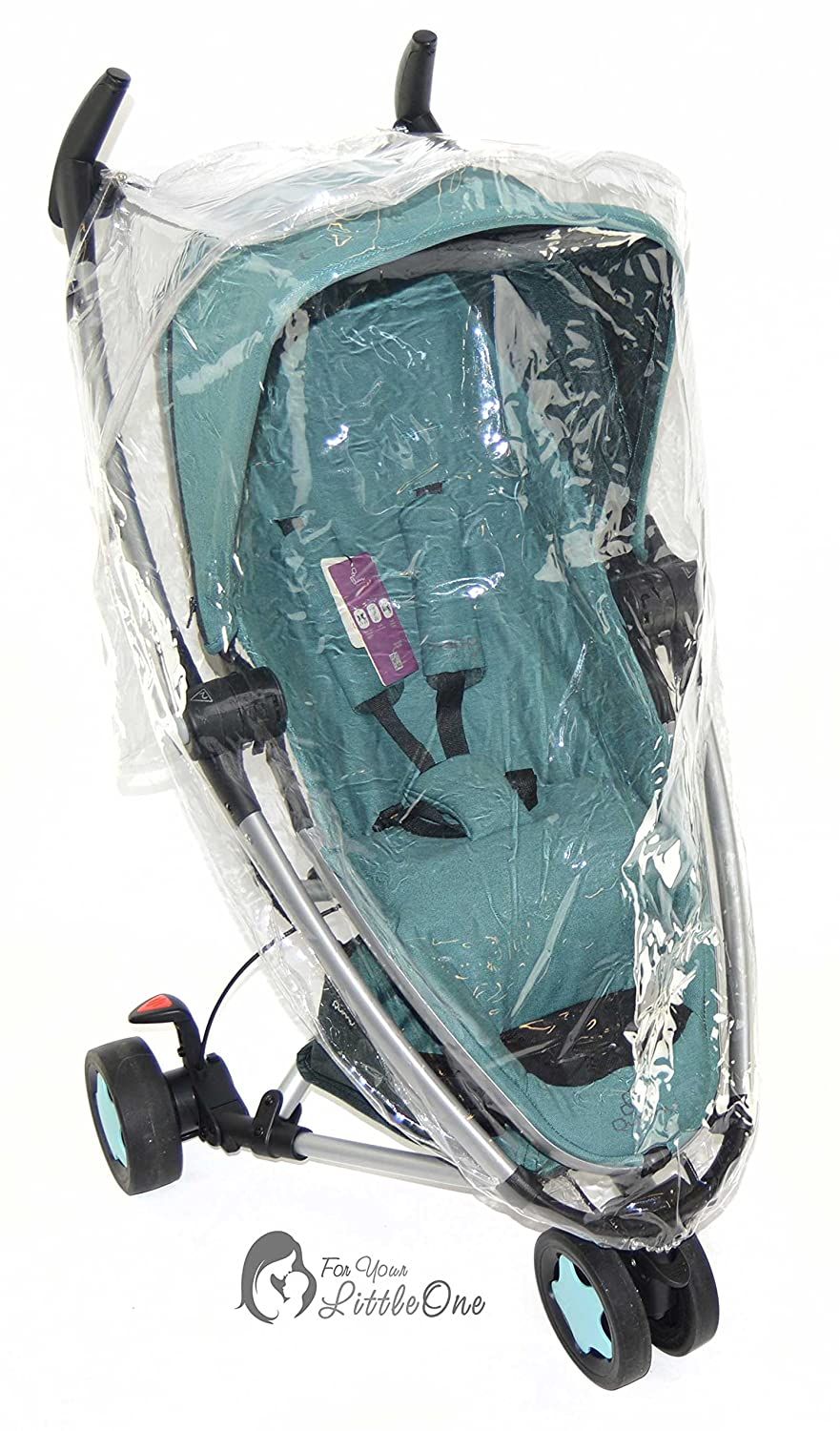 Raincover Compatible with Quinny Zapp Pushchair (142) For-Your-Little-One FYLOQZAR