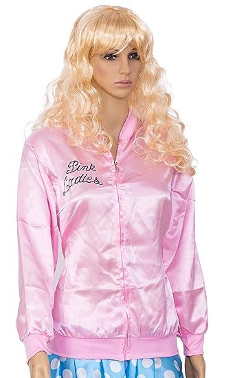 Pink Lady disfraz infantil de chaqueta Retro Pink Lady Chaqueta para disfraz de Grease Pink Ladies, muchos tamaños a elegir Ideal para lavar a mano de ...