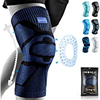 NEENCA Knee Brace,Knee Compression Sleeve Support with Patella Gel Pad & Side Spring Stabilizers,Medical Grade Knee…