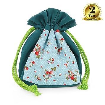 q-smile Wasserdicht rund Kordelzug Tasche Nähen Mustern, einfach DIY ...