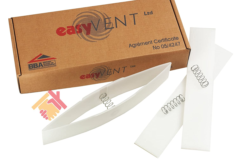 6 X EASYVENT LOFT VENTILATION CURES CONDENSATION IN THE LOFT - DIY INSTALL
