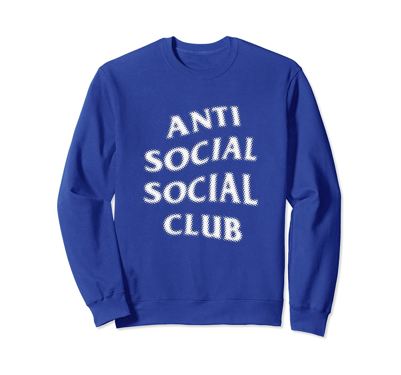 Anti Social Club Halftone Type T-shirt- TPT