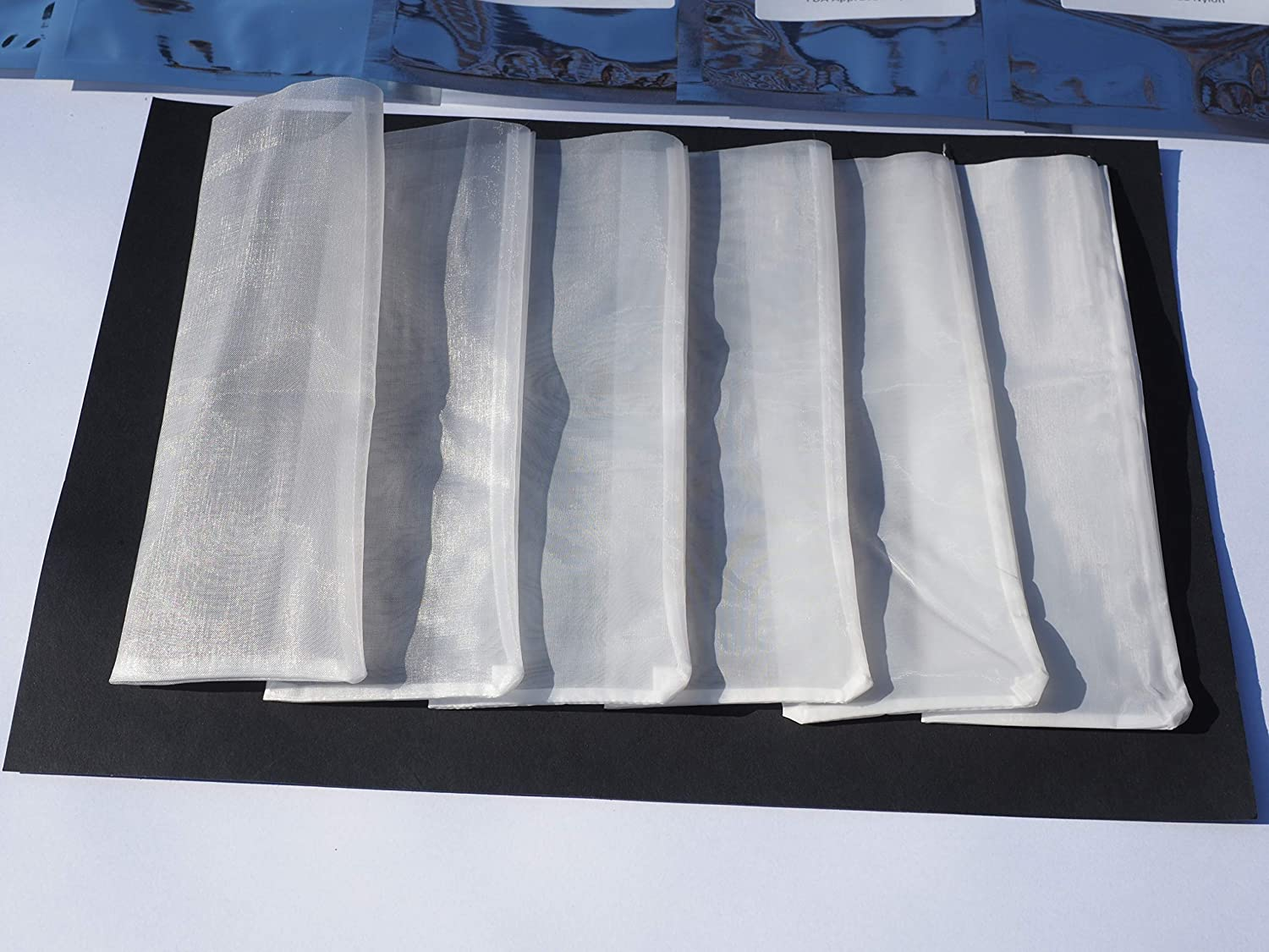 u Filter Bags 2.5 x 7 Rosin Extraction Micron 25 Micron, 10