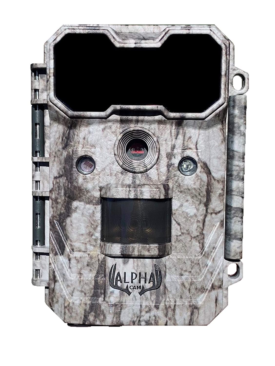 Alpha Cam Hunting Trail Camera 20MP 1080p 30fps Waterproof Scouting Cam with Ultra Fast Trigger Speed and Recovery Rate 2.4 Color Viewscreen 48 IR LEDs