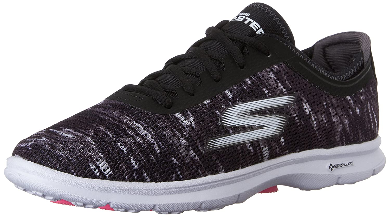 Skechers Damen Go Step Sneaker  37 EU|Schwarz (Bkw)