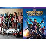 Marvel Double Feature - Guardians of the Galaxy Vol. 1 & 2 Two-Movie Cinematic Universe 2-DVD Super Hero Bundle