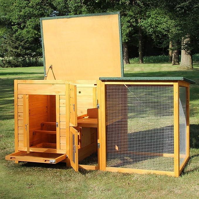 Zoo Primus gallinero 147 Aves - Caño - Flexi - Establo para ...