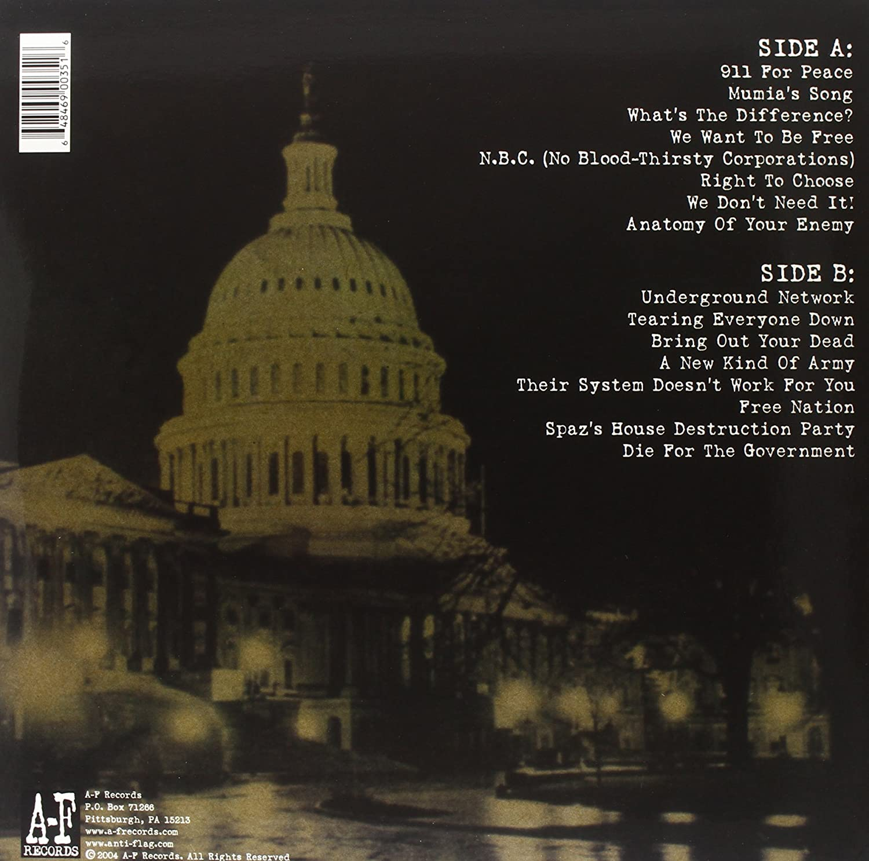 Anti Flag Mobilize Vinyl Amazon Music