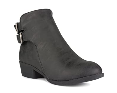 Women's Alexia Faux Leather Ankle Bootie