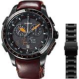 [エプソン] 腕時計 トゥルーム Break Line TR-MB7007X メンズ グリーン