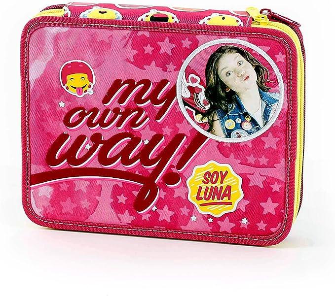 SOY LUNA - Caso Escuela Maxi 62 piezas: Amazon.es: Juguetes y juegos