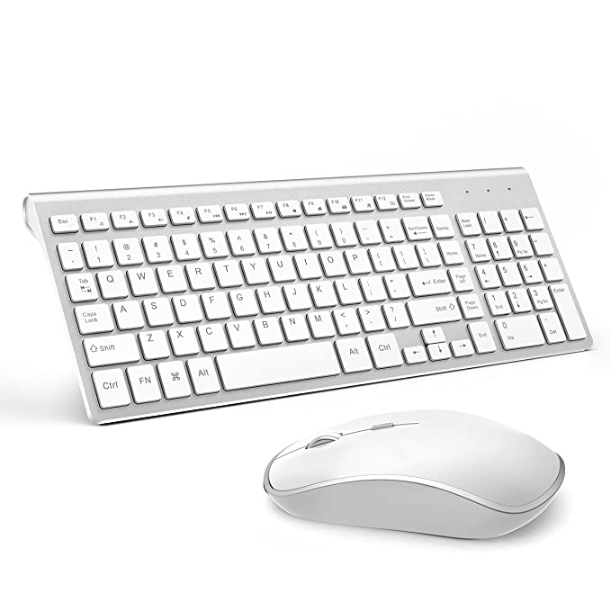 aef9225bec4 JOYACCESS Wireless Keyboard and Mouse Combo,Compact Wireless Keyboard with  Numeric Keypad,Ergonomic Full-size 2400 DPI Mouse: Amazon.ca: Computers &  Tablets